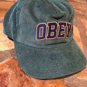 OBEY HIGHER STRAPBACK COUROROY